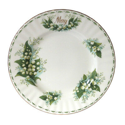Royal Albert Flower of the Month May Plate 20cm