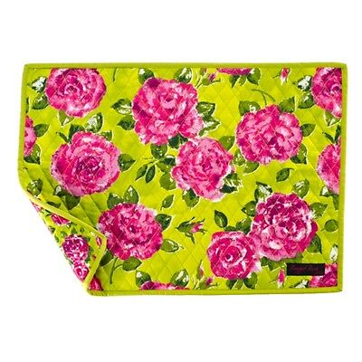 Ragged Rose Floral Quilted Place Mat