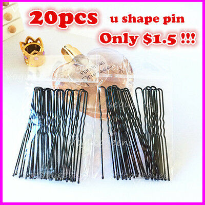 High Quality 20 Pieces U Shape Hair Pin