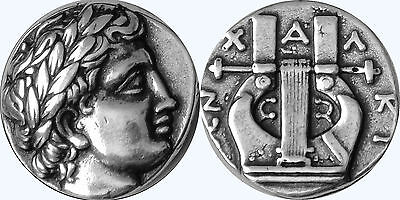 Percy Jackson Fans,Greek Gods Collection,#30S, APOLLO and LYRE