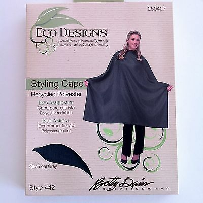 *BUY 3 FOR $22-BETTY DAIN Eco Salon/Barber STYLING & HAIRCUTTING CLOTH SNAP CAPE