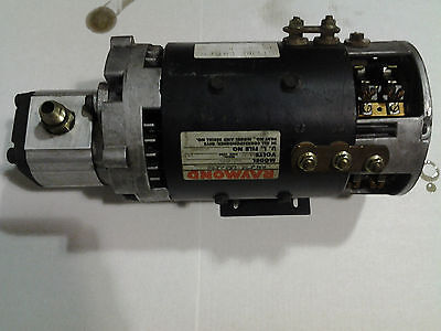 Raymond OP Hydraulic Lift Motor with Pump Assembly