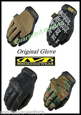 GUANTES  MECHANIX -The Original Glove -negro -Caza-Airsoft -Militar -Moto