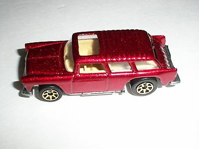 HOTWHEELS REDLINE 1969 MALAYSIA CHEVY NOMAD TOY COLLECTOR CAR 30TH ANNIVERSARY