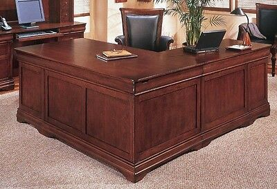"New Rue De Lyon 72"" Executive L-Shape Office Desk"