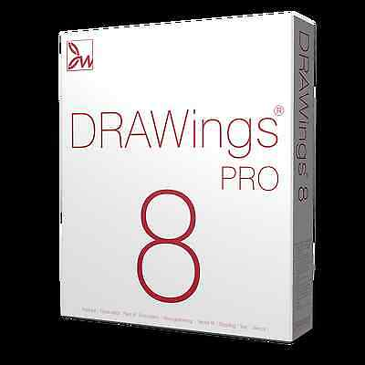 DRAWings 8 PRO Embroidery Digitizing Software