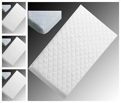 Baby Cot / Crib / All Sizes Breathable & Water Proof Soft Quilted Mattresses