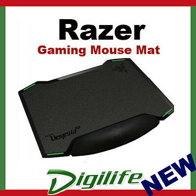 Razer Vespula Dual-Sided Gaming Mouse Mat Enhanced Tracking Surfaces Wrist Rest