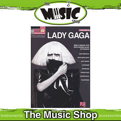 New Lady Gaga Pro Vocal Womens Book & CD - Volume 54