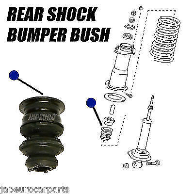 For Toyota Altezza / Gs300 Gs430 Is200 Is300 Rear Spring Support Bumper Cushion