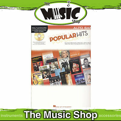New Popular Hits for Alto Saxophone - Book & CD