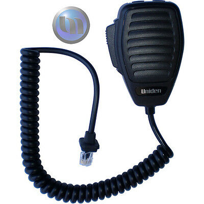 Uniden Microphone - 8 Pin Microphone - Push To Talk/Call/Inst  (PTT)