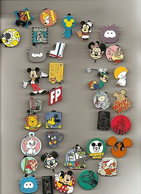 Disney Pins 75 Different Pins  Fast Usa Seller Cl, Le, Hm & Cast Pins Mixed Lot