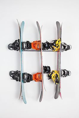 Snowboard Storage Rack Garage Wall Display Organizer by Monkey Bar Storage