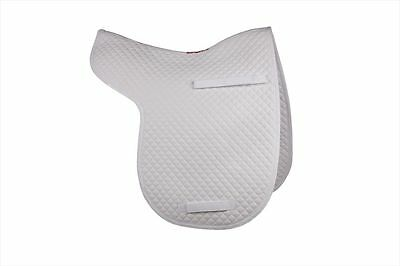 HyWITHER Competition Dressage Numnah White - Cob/Full - Saddlecloth/Numnah