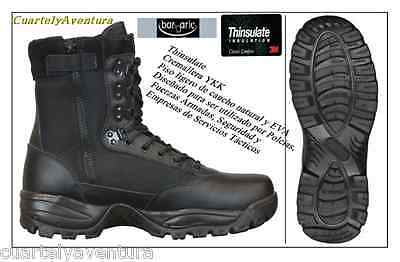 BOTA BARBARIC  THINSULATE C/C SEGURIDAD MILITAR  CAZA  AIRSOFT