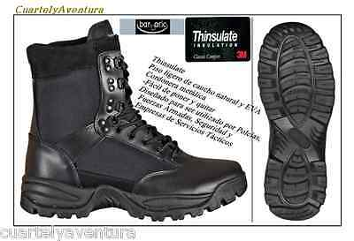BOTA BARBARIC  THINSULATE  SEGURIDAD MILITAR  CAZA  AIRSOFT