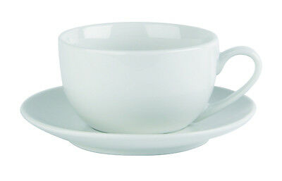 Professional Porcelain Capuccino cup  and saucer 10oz x 12