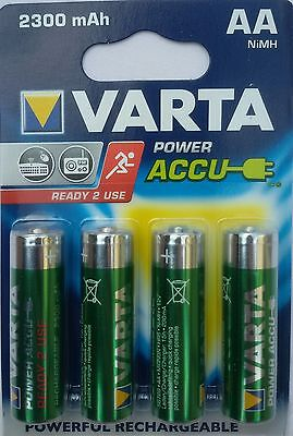 12 piles HR6 Rechargeables VARTA  Ready 2 use 2300Mah Ni-nH 56726