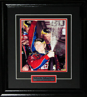 Mark Martin Nascar signed 8x10 frame