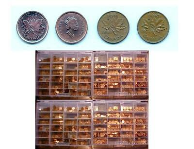 Canadian Pennies  1940 to 1969  any dates   Buy as many as you need