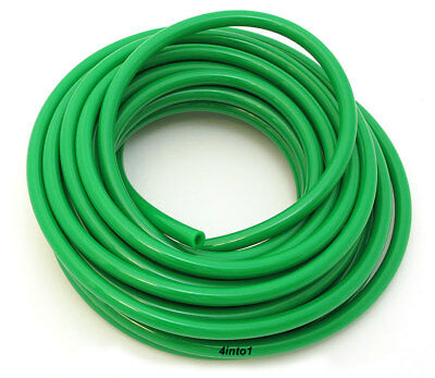 "Helix Green 1/8"" 3mm Motorcycle Polyurethane Fuel / Vent Line - SOLD BY THE FOOT"