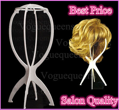High Quality Folding wig stand/Stand Holder Display for wig or hat display tool