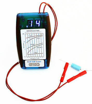 AnaTek Blue ESR/Low Ohms Meter - Fully Assembled  ( BESR )
