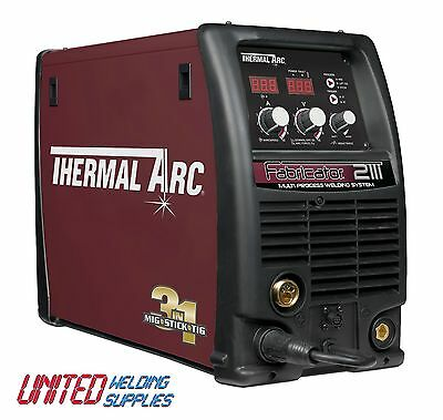 Thermal Arc Fabricator 211i Dual Voltage 110V & 240V MIG/TIG/ARC Welder
