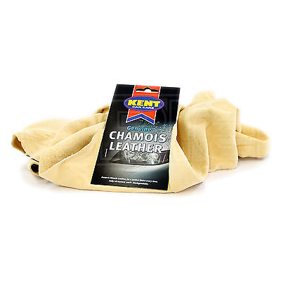 Kent Car Care - Genuine Chamois Leather - 4 Square Foot