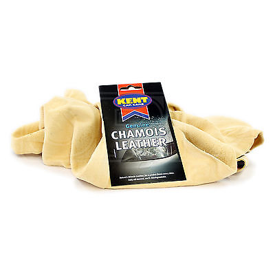 Kent Car Care - Genuine Chamois Leather - 2.5 Square Foot