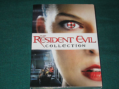 The Resident Evil Collection Cofanetto 4 Dvd
