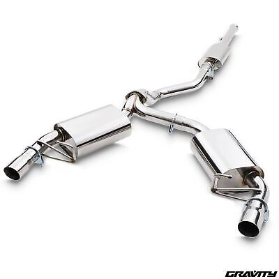 Renault Clio 197 2.0 16V 06+ Sport Stainless Steel Race Cat Back Exhaust System