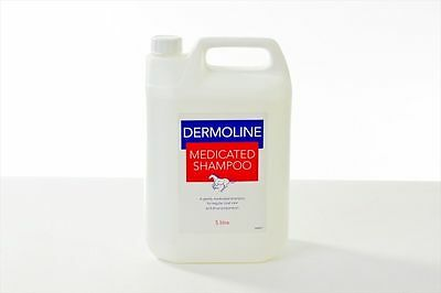Dermoline Medicated Shampoo 5 litre - Horse Pony First Aid