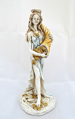 Goddess of Luck and Fortune Tyche Ancient Greek Goddess sculpture statue