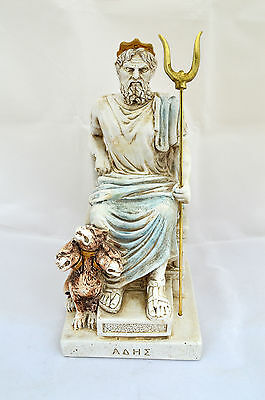 Hades Ancient Greek God King of the Underworld sculpture Throne statue artifact
