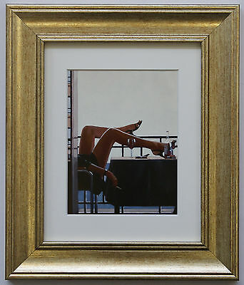 The Temptress by Jack Vettriano Framed & Mounted Art Print Picture