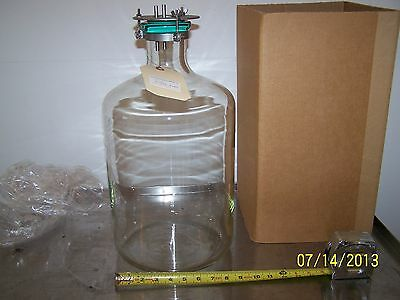 New Brunswick Scientific Glass Nutrient Reservoir 13.25 L Model M1052-3180