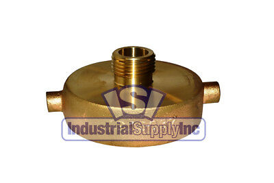 "Fire Hydrant Adapter 2-1/2' NST(F) x 3/4"" GH Male"