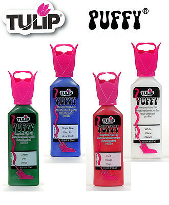 Tulip Puffy 3D dimensional fabric paint 37ml - * same low p+p any quantity