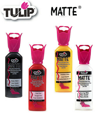 Tulip Matte 3D dimensional fabric paint 37ml - * same low p+p any quantity