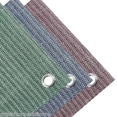 WEAVEATEX BREATHABLE GROUNDSHEET BLUE GREEN PLUM GREY awning carpet tent matting