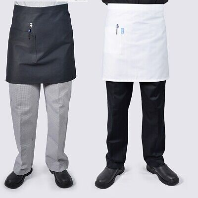 5 x Half Waist Chef Kitchen Waiter Aprons.., see handychef for chef jackets,pant