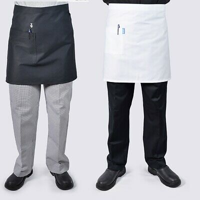 3 x Half Waist Chef Kitchen Waiter Aprons.., see handychef for chef jackets,pant