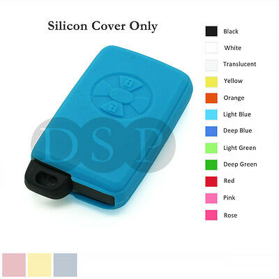 Silicone Cover Holder fit for TOYOTA Avalon Smart Remote Key Case Fob 12C LB