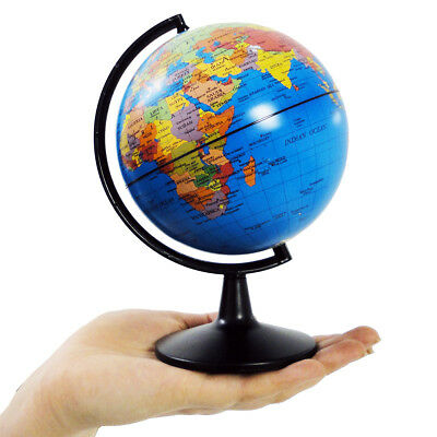 Children's Small World Globe Edu Science 13cm Mini Swivel Kid's Globe