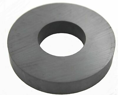 """Ferrite Donut / Ring Ceramic Type Magnet, Size  2¾"""" OD, 1¼"""" ID, ½"""" Thick"""