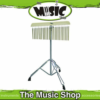 DXP 25 Note Chime Bar Set with Adjustable Double Braced Stand - New Chimes