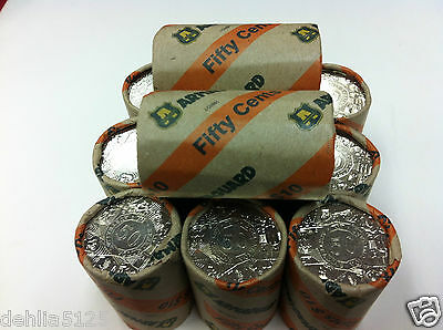 2003 50c Year of the Volunteers - Armagard Security Roll - coin mint roll