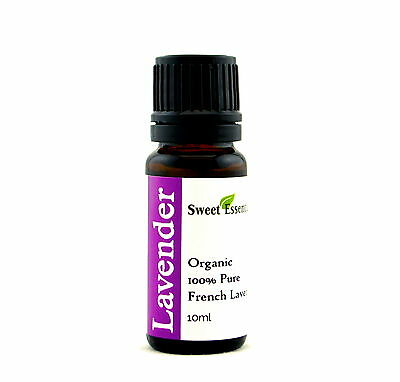 100% Pure Organic French Lavender Essential Oil - 10ml - Imported From France